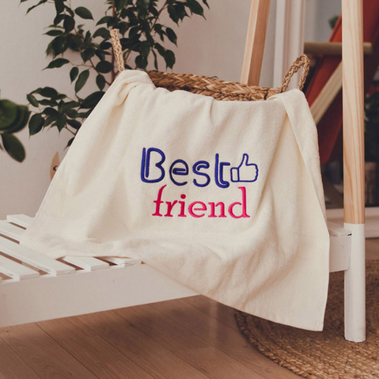 Рушник з вишивкою Best friend